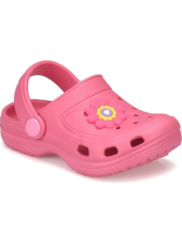 Kinetix Pelen Fuşya Kız Çocuk Basic Sandalet
