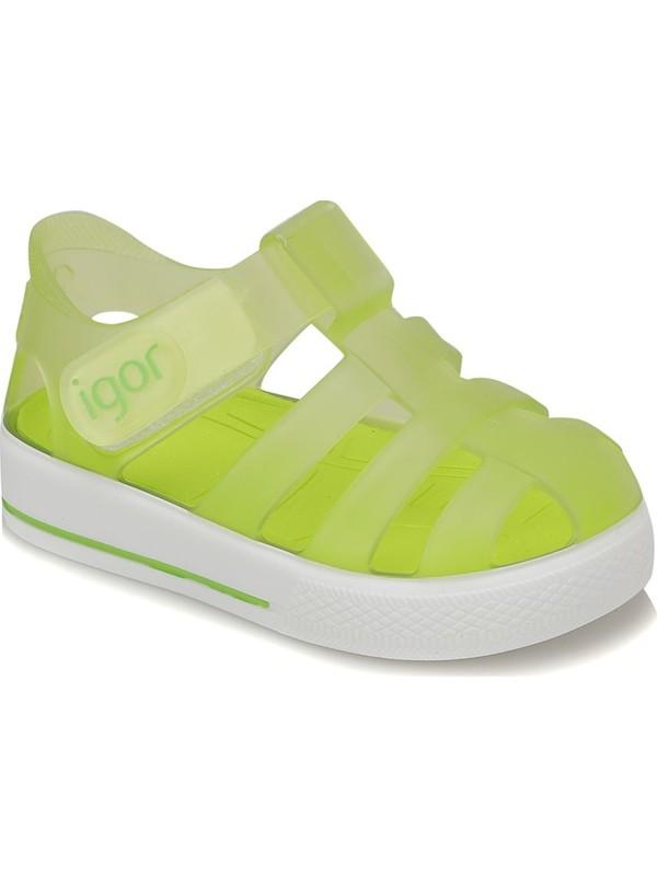 Igor S10171 Star-Ö18 Yeşil Fuşya Kız Çocuk Sandalet