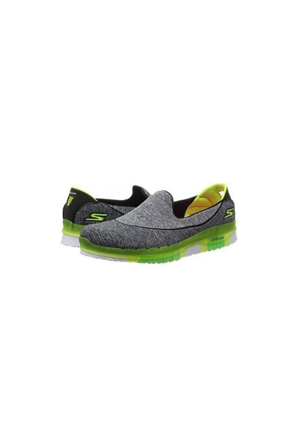 14010 Skechers Go Flex Women's Sport Shoes Gray