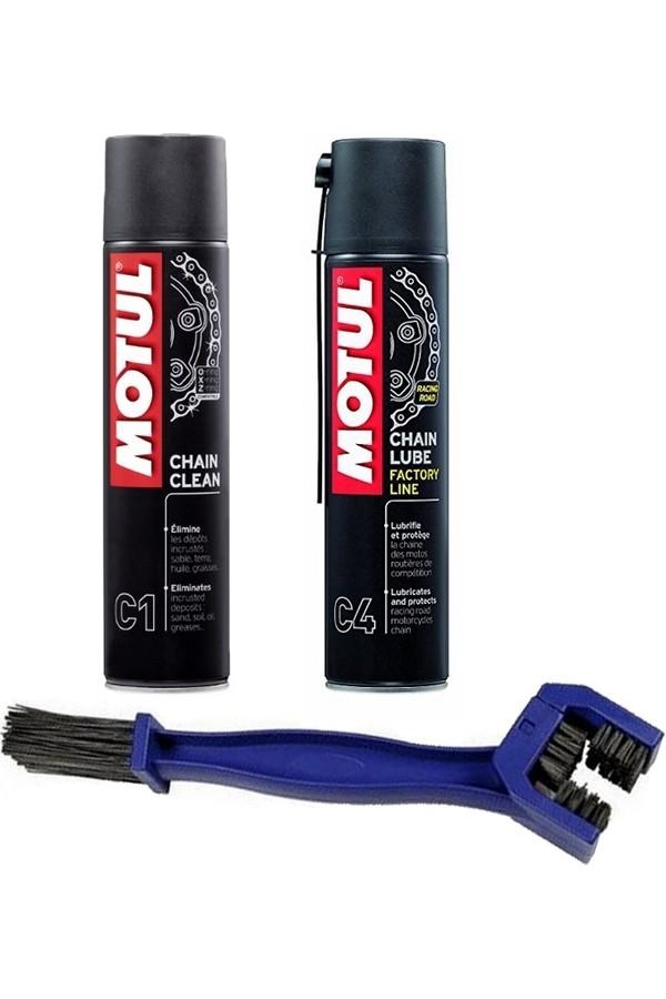 Motul Cleaning and Maintenance Kit  C1 & C4