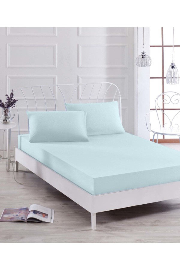 Eponj Home Painter Fitted Sheet Set for Double d.bo to a.mav