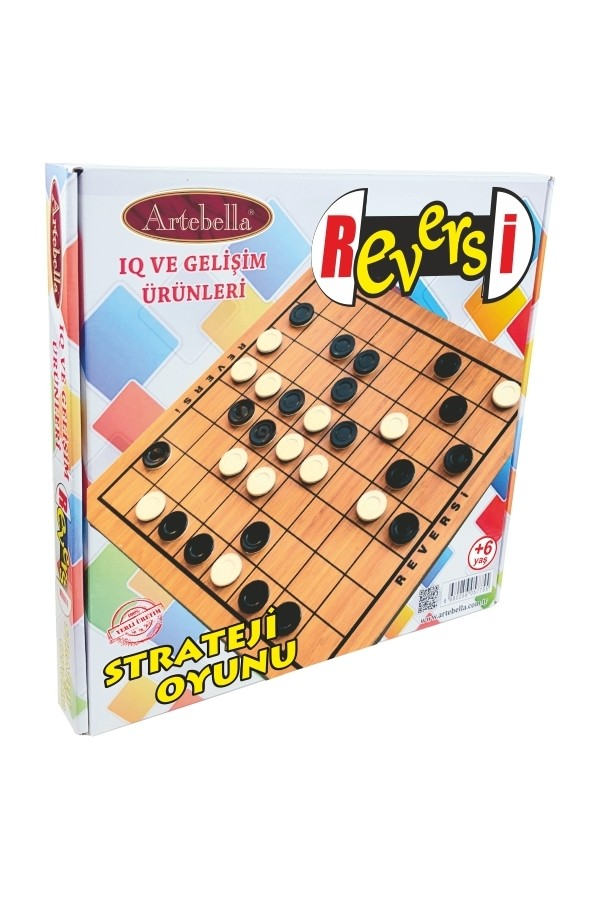 Artebella IQ Products and Development Strategy Game Reversi 32x32 cm