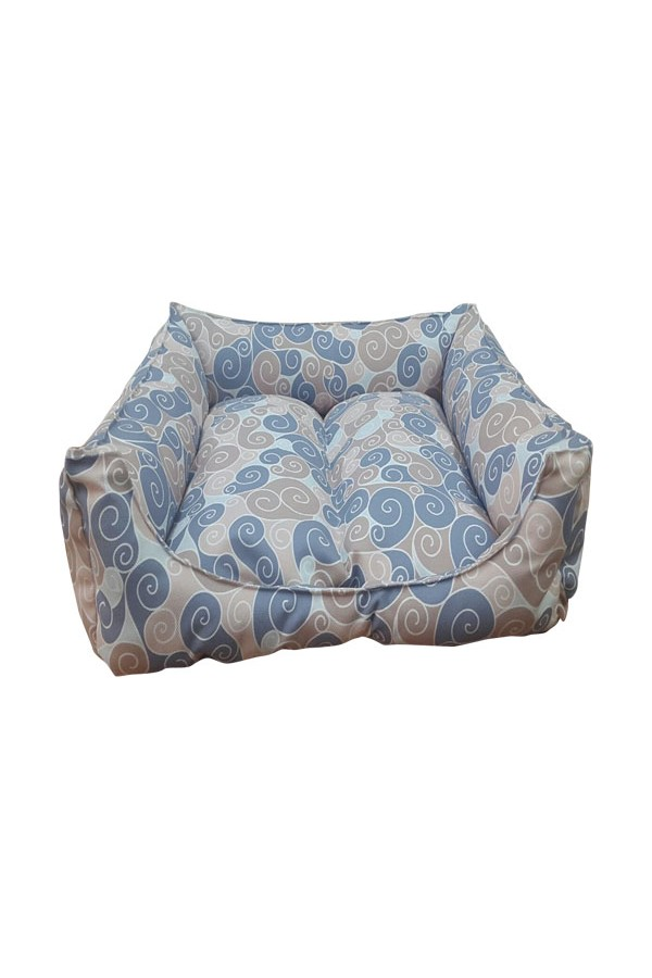 Tables 3 mrs.pillow Patterned cat and dog beds are 45 x 45 cm diameter