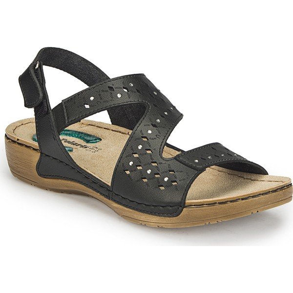 Polaris 81.158518.Z Siyah Kadın Sandalet