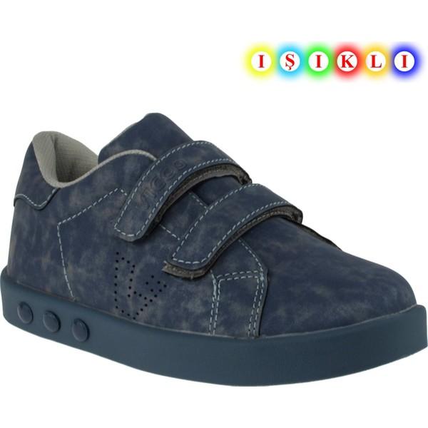 Vicco 313.18y097b İşikli Çocuk Mavi Çocuk Spor Ayakkabı