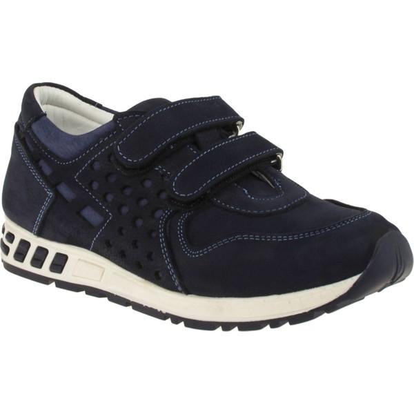 Perlina 2700 Çift Cirt Lacivert Çocuk Spor Ayakkabı