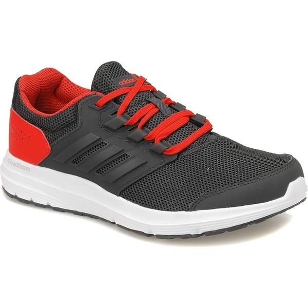 793e2e7b73ff2 Adidas Galaxy 4M Koyu Gri Mel A Kırmızı Erkek Koşu Ayakkabısı - 45 Ürün  Resmi