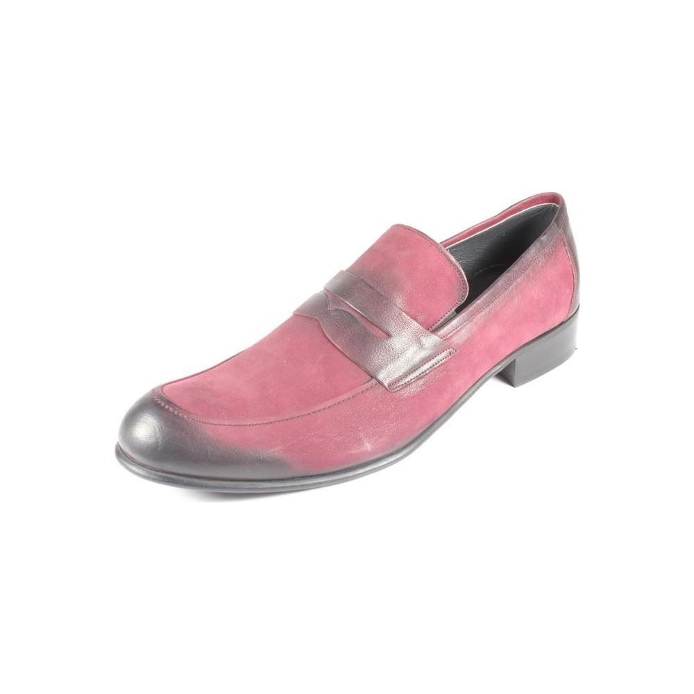 Pablo 220-274 Bordo Erkek Klasik Ayakkabı