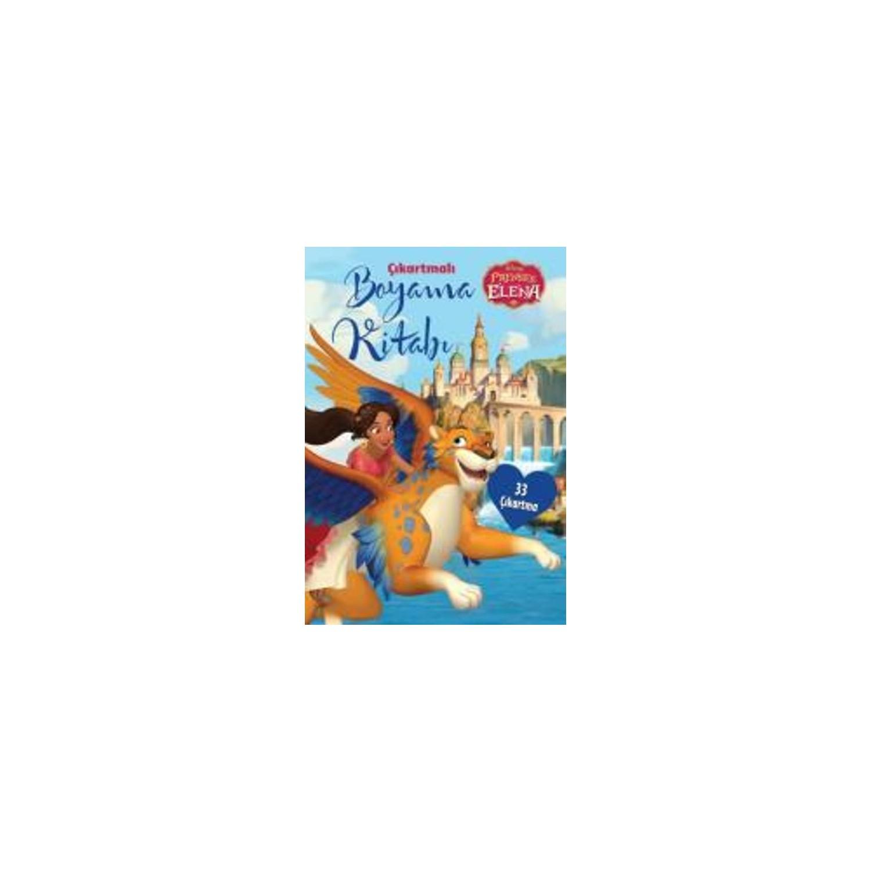 Disney Prenses Elena Cikartmali Boyama Kitabi Fiyati