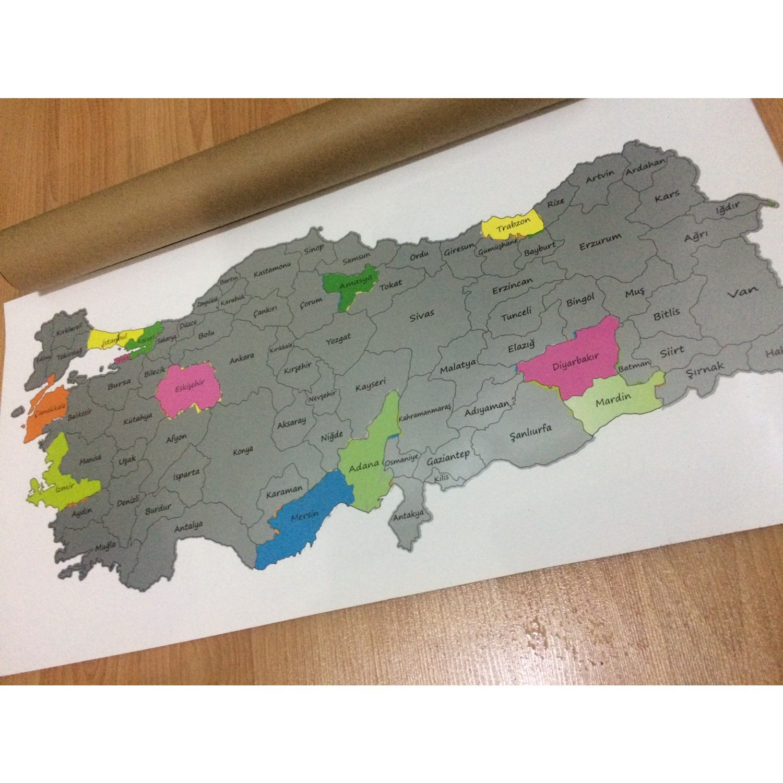Mapofx Gez Kazı Harita Kazınabilir Türkiye Haritası Fiyatı