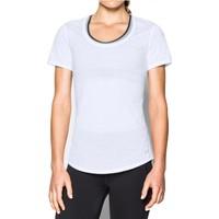 Under Armour Beyaz Kadın T-Shirt 1271517-100