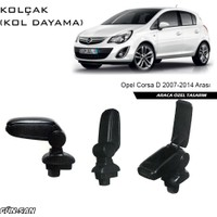 Omsa Opel Corsa D 2007-2014 Arası Orjinal Tip Kol Dayama ( Kolçak )