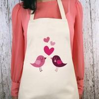Juno Aşk Kuşları Mutfak Önlüğü