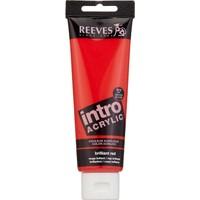 Reeves İntro Akrilik Boya 120Ml - Brillant Red