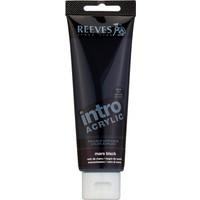 Reeves İntro Akrilik Boya 120Ml - Mars Black