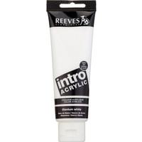 Reeves İntro Akrilik Boya 120Ml - Titanium White