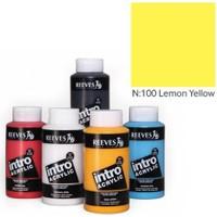 Reeves İntro Akrilik Boya 500Ml - Lemon Yellow