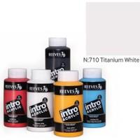 Reeves İntro Akrilik Boya 500Ml - Titanium White