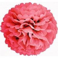 Bebekparti Ponpon Çiçek Fuşya