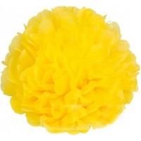 Bebekparti Ponpon Çiçek Sarı