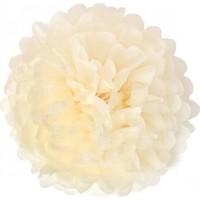 Bebekparti Ponpon Çiçek Krem