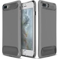 Baseus Apple iPhone 7 Plus Kılıf Baseus Angel Serisi Ultra Korumalı Silikon +Kırılmaz Cam