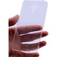 Kny Meizu M3 Note Kılıf Ultra İnce Silikon +Kırılmaz Cam