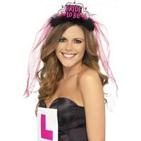 KullanAtMarket Bride to Be Tüllü Parti Taç