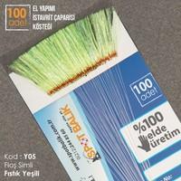Abari Y05 İstavrit Çinekop Çapari Kösteği Fıstık Yeşili 100Ad