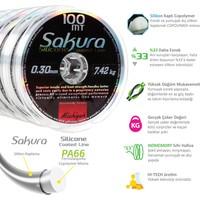 Michigan Sakura Silikon Kaplama Copolymer Misina 100M 0,10 mm