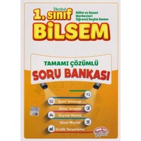 Editör Yayınevi 1. Sınıf Bilsem Tamamı Çözümlü Soru Bankası