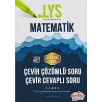 Editör Yayınevi Lys Matematik Çevir Çözümlü Soru Çevir Cevaplı Soru