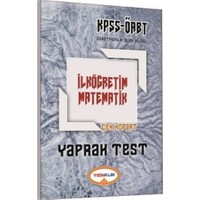 Yediiklim Yayınları Kpss Öabt İlköğretim Matematik Yaprak Test