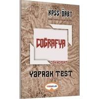 Yediiklim Yayınları Kpss Öabt Coğrafya Yaprak Test