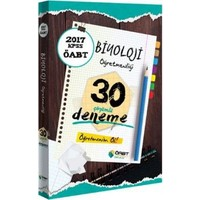 Öabt Okulu Yayınları Öabt Biyoloji Öğretmenliği Çözümlü 30 Deneme