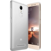 Microsonic Xiaomi Redmi Note 3 Kılıf Transparent Soft Beyaz