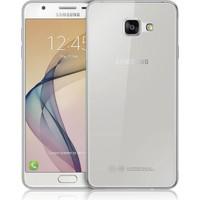 CaseUp Samsung Galaxy J7 Prime Kılıf, CaseUp İnce Şeffaf Silikon + Kırılmaz Cam