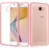 CaseUp Samsung Galaxy J7 Prime Kılıf, CaseUp Lazer Kesim Silikon + Kırılmaz Cam