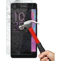 CaseUp Sony Xperia E5 CaseUp Kırılmaz Cam Ekran Koruyucu