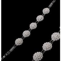 Akyüz Gümüş Bereket Modeli Telkari Gümüş Bileklik Bt029