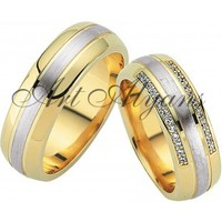 ArtAlyans Altın Hafif Alyans ART42-7020
