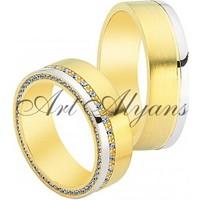 ArtAlyans Altın Hafif Alyans ART42-7015