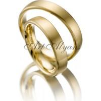 ArtAlyans Altın Klasik Alyans ART42-8112