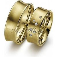 ArtAlyans Altın Özel Tasarım Alyans ART42-0946