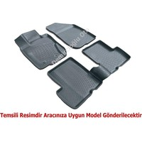 3D Paspas Mercedes E Serisi W212 2014 Krem Havuzlu Paspas - Bej