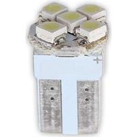 Dipsiz Ampul 5LED Beyaz Işık 12V 2 Adet