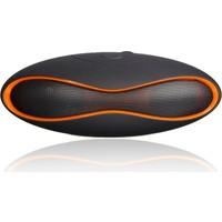 Rugby Bluetooth Hoparlör Mp3 Radyo (Turuncu)