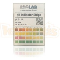 Isolab Ph Test Kağıdı 0-14Ph 100Ad.