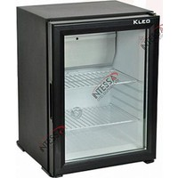 Kleo 45 Lt Cam Kapılı Absorbe Sistem Mini Bar Siyah