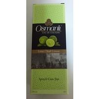 Osmanlı Kolonya Yeşil Limon Cam 100Ml